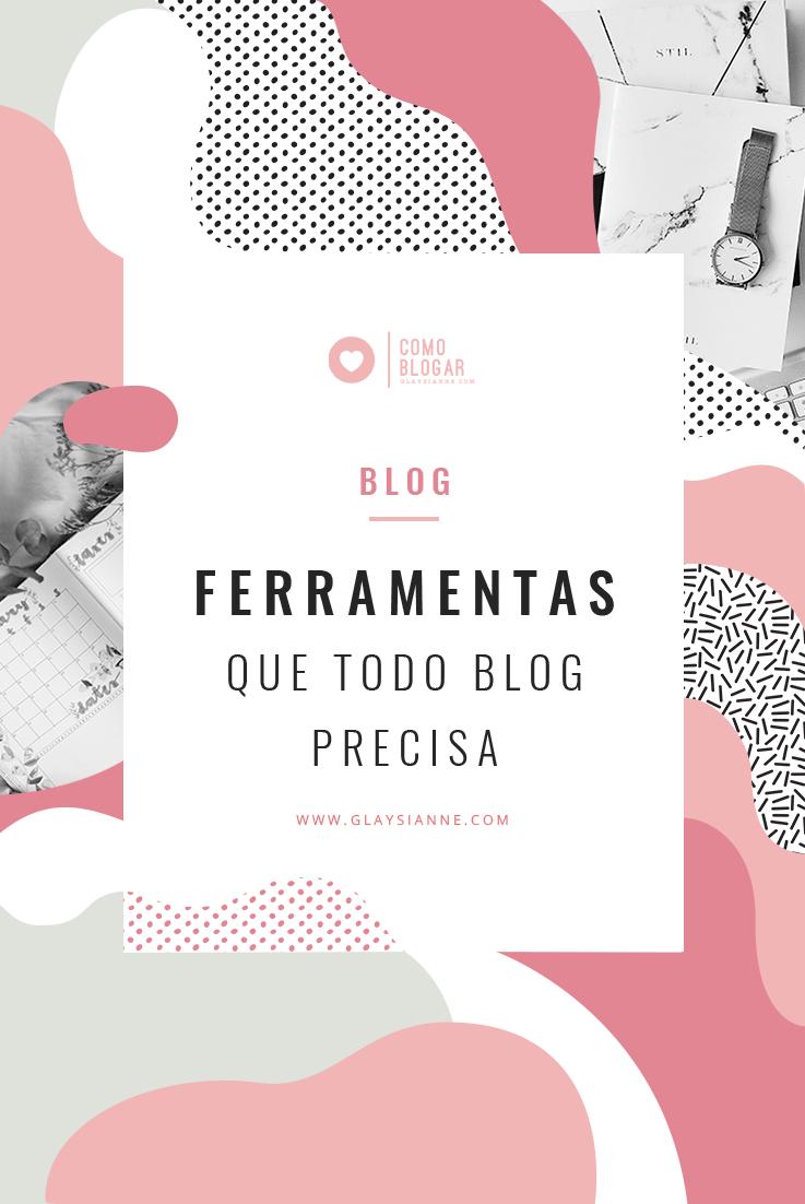 Lista de ferramentas que todo blog precisa