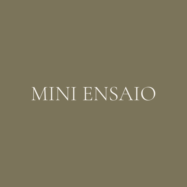 Mini Ensaio